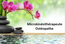 Logo Microkinésithérapie, Ostéopathie, Kinésithérapie